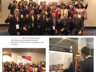 23rd. Annual Graduate Education and Graduate Student Research Conference in Hospitality and Tourism