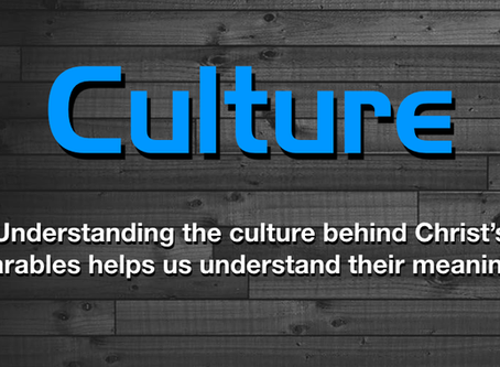 Your Culture is Showing! Cultural Context and Bible Interpretation