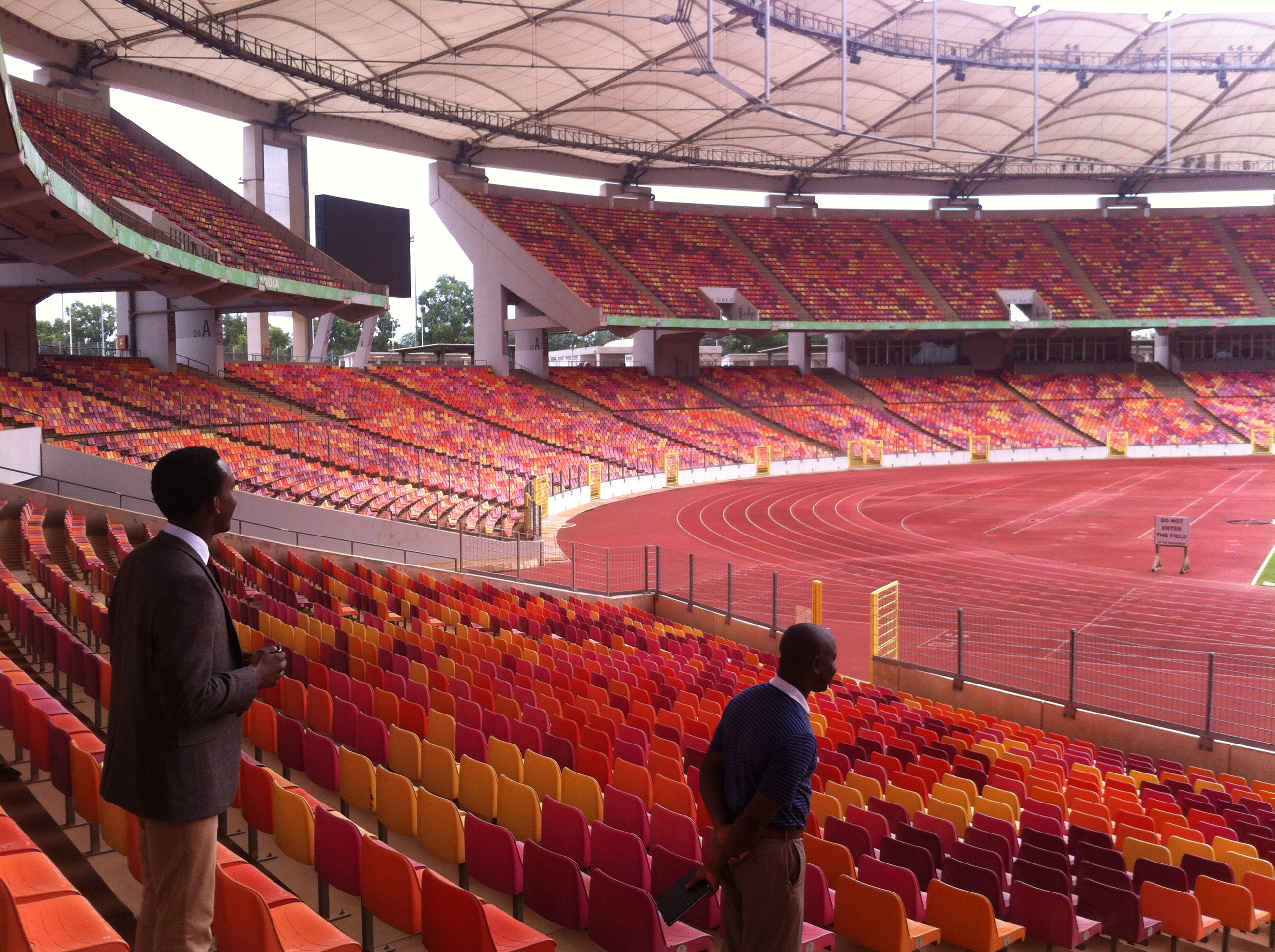 The National Stadium, Abuja.