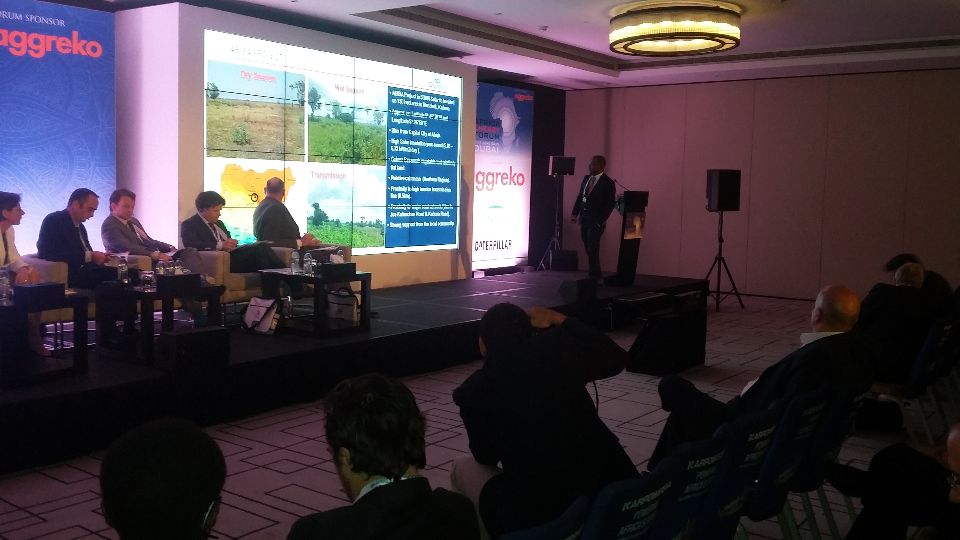 African Energy Forum 2015 in Dubai