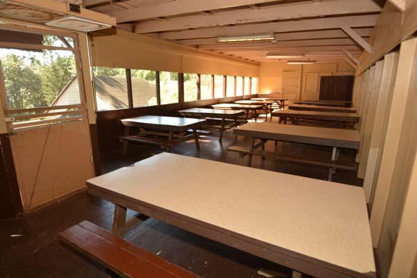 Mess Hall Interior