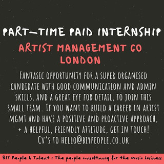 PART-TIME INTERNSHIP ALERT!!