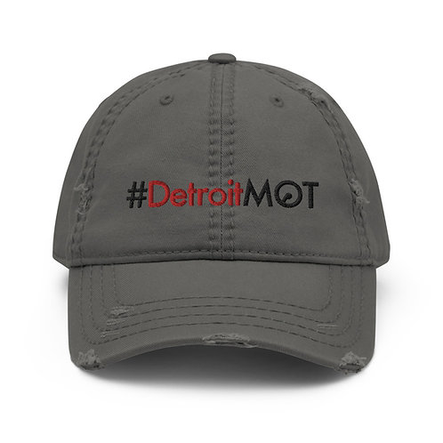 DetroitMOT Distressed Dad Hat