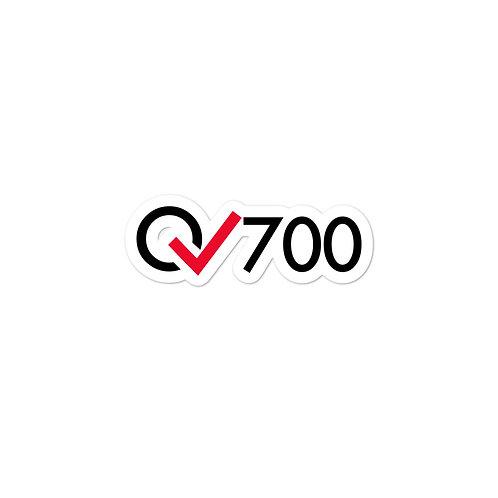 700 Rides Milestone stickers