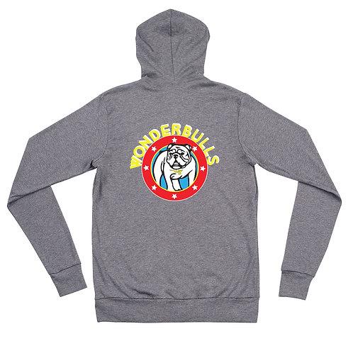 Wonderbulls Unisex zip hoodie