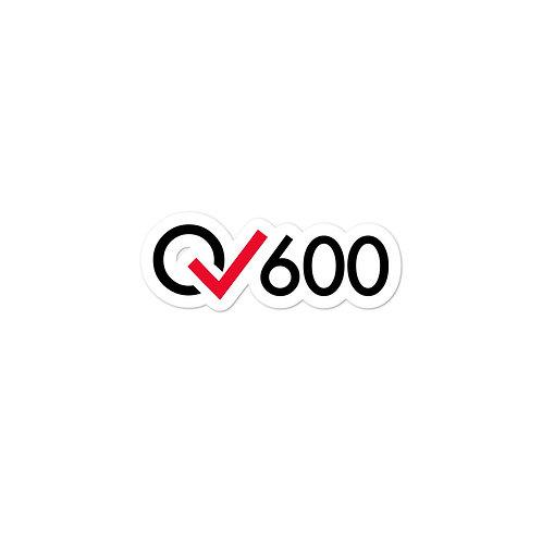 600 Rides Milestone stickers