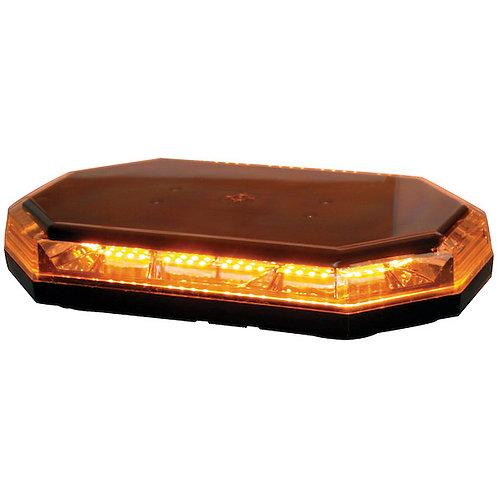 "Octagonal 15"" LED Mini Light Bar - Amber"