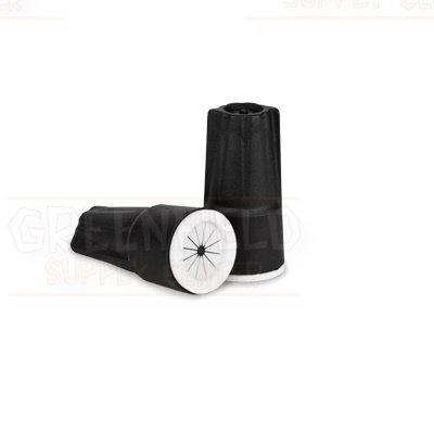 DryConn® Black Outdoor Irrigation Wire Connectors 25 per Bag