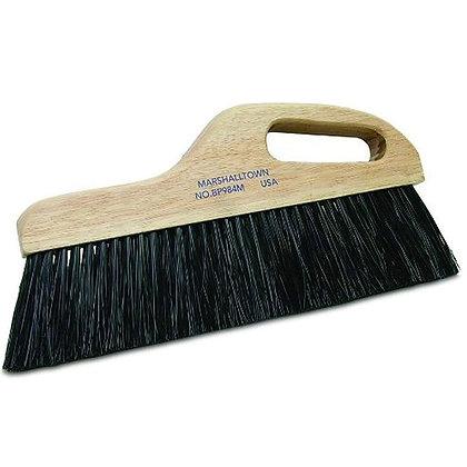 """Finishing 12"""" Black Poly Broom Medium"""