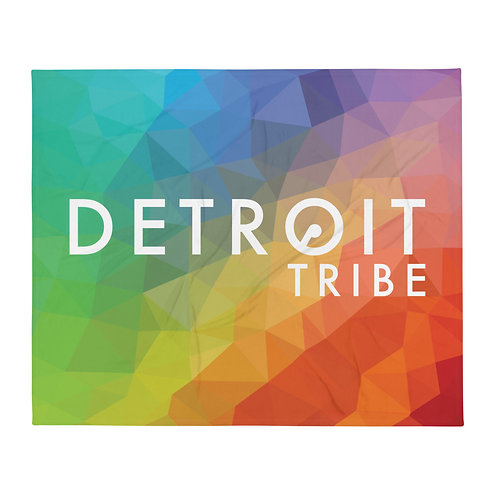 Detroit Tribe Throw Blanket
