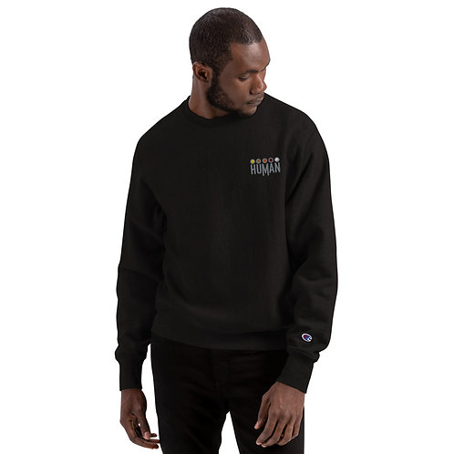 HUMAN - Champion Sweatshirt
