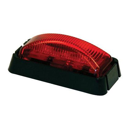 "Marker Light 2-1/2"" Red Surface Light w/3 LEDS"