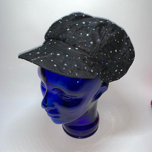 Cabbie Cap (Black)