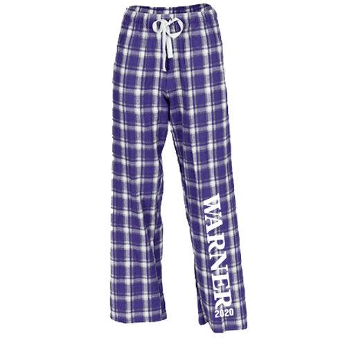 Boxercraft Purple Flannel Pants With Pockets