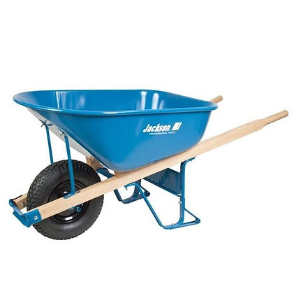 Jackson 6 Cu Ft Steel Wheelbarrow