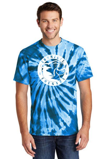 Tie Dye Commerce super soft t-shirt Version 2