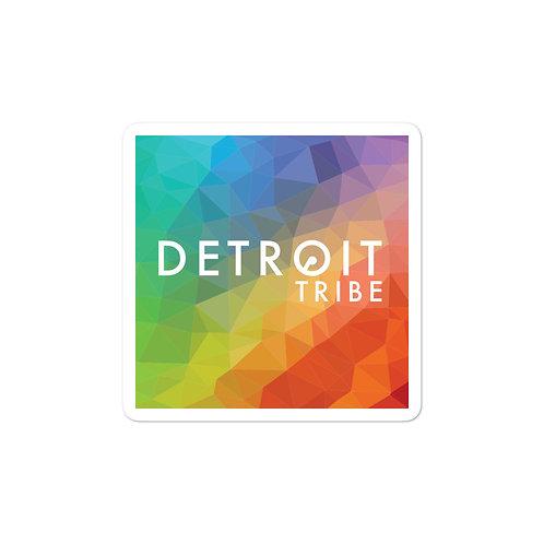 Rainbow Detroit Tribe Sticker