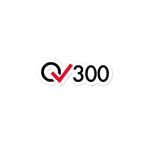 300 Rides Milestone stickers