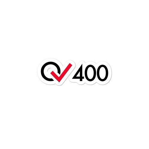 400 Rides Milestone stickers