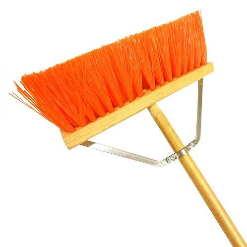 Street Broom Orange