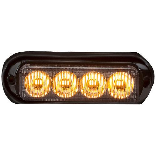 "Mini 5"" Amber LED Strobe Light"