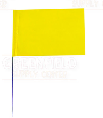 Marking Flag Fluorescent Yellow