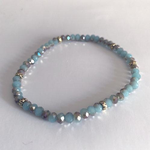 Mini Crystal Sea and Sand Beaded Bracelet