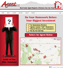 Agent_Web_Report_Home_Page