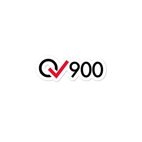 900 Rides Milestone stickers