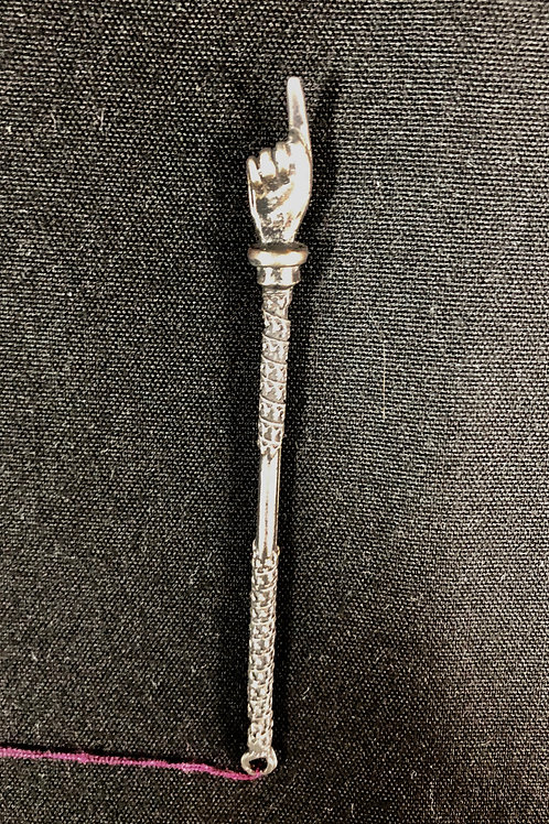Antique Silver Yad  - 3 3/4 in length