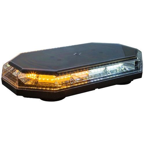 "Octagonal 15"" LED Mini Light Bar - Amber/Clear"