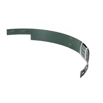 Green Aluminum Edging 8'