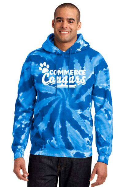 Commerce Tie Dye super soft hoodie Version 1
