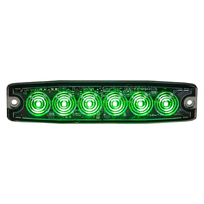 "Ultra Thin 5"" Green LED Strobe Light"