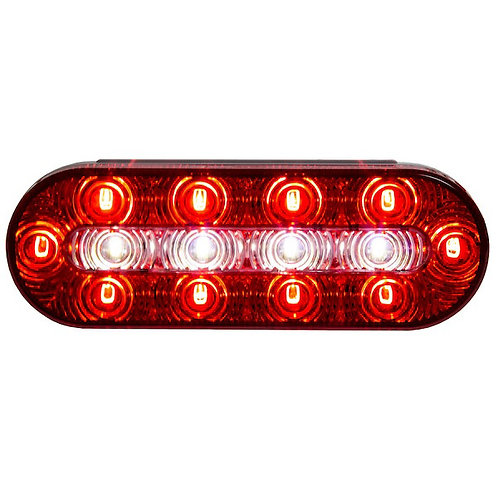 """Stop/Turn/Tail Light Combination 6"""" Oval LED"""