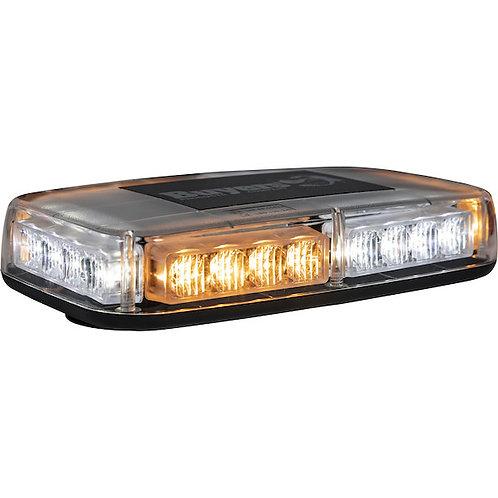 Mini Amber/Clear 12-24 VDC LED Light Bar