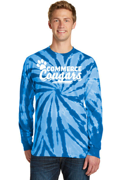 Tie Dye Jersey long sleeve tee Version 1