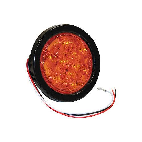 "Turn Signal Light 4"" Round w/10 LEDS"