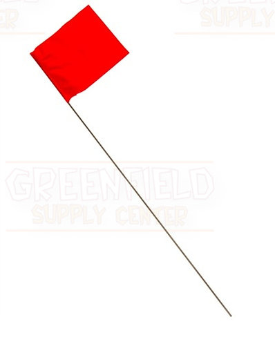 Marking Flag Red