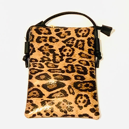 Gold Leopard Purse
