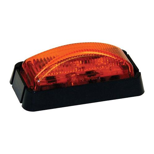 """Marker Light 2-1/2"""" Amber Surface Mount w/ 3 LEDS"""
