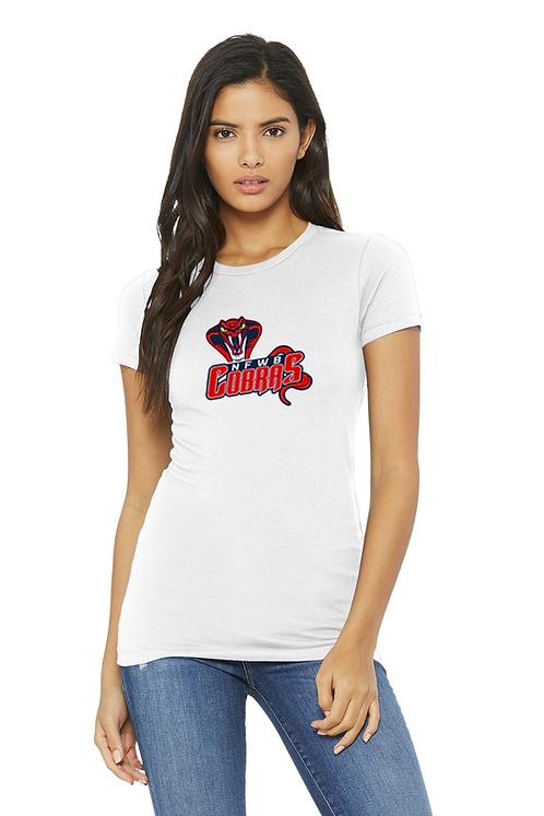 White Bella+Canvas® Women's The Favorite Tee Shirt