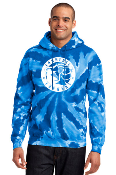 Commerce Tie Dye super soft hoodie Version 2