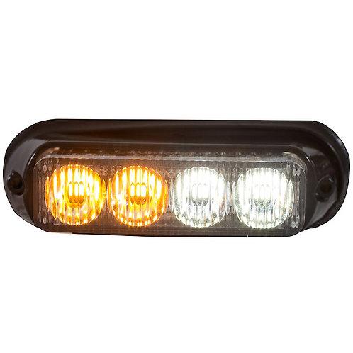 "Mini 5"" Amber / Clear LED Strobe Light"
