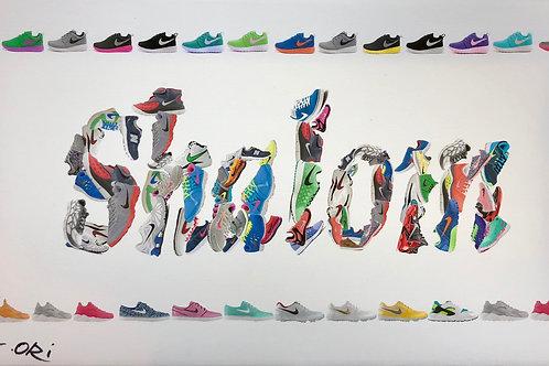 """Shalom"" Artist: G. Orie"