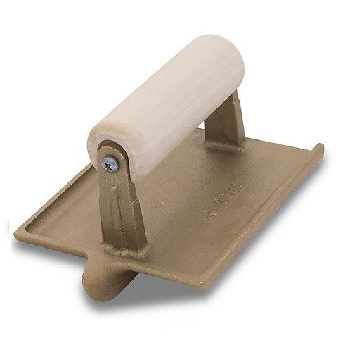 "Groover Bronze 6"" x 4-1/2"" 1D, 1/2W, 1/4R Wood Handle"