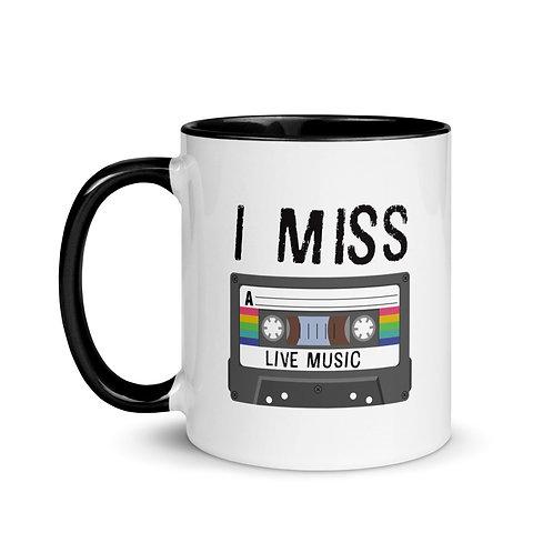 I Miss Live Music Mug
