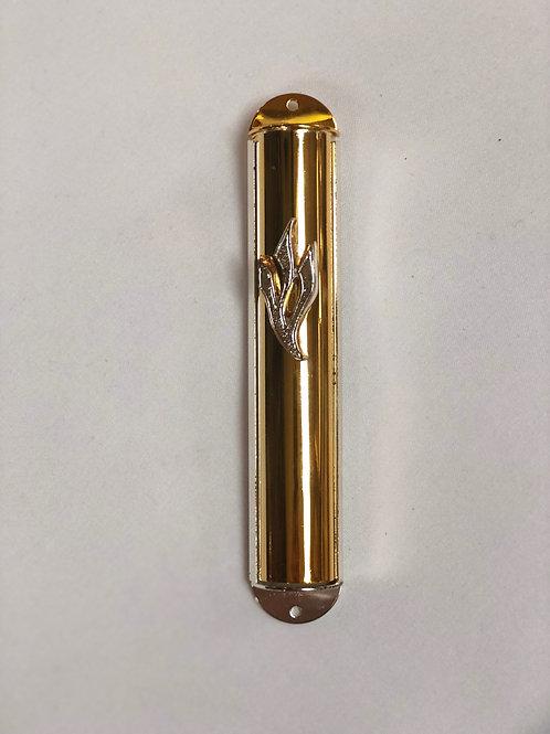 Light Brass Mezuzah