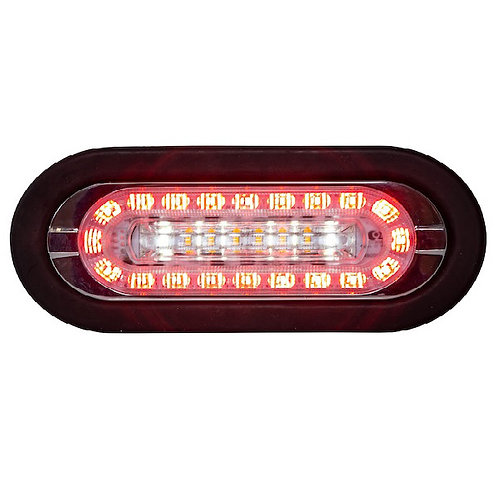 """Combination 6"""" LED Stop-TurnTAIL, Backup & Amber Strobe Light"""