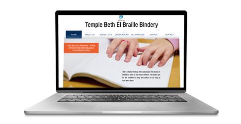 Temple Beth El Braille Bindery
